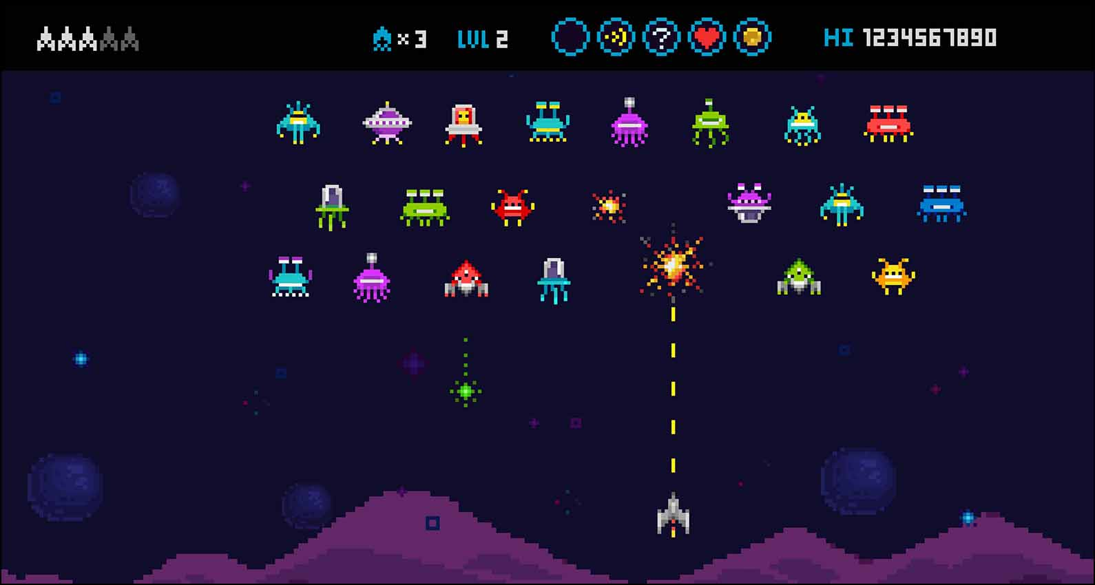 Cyber security is a bit like space invaders!