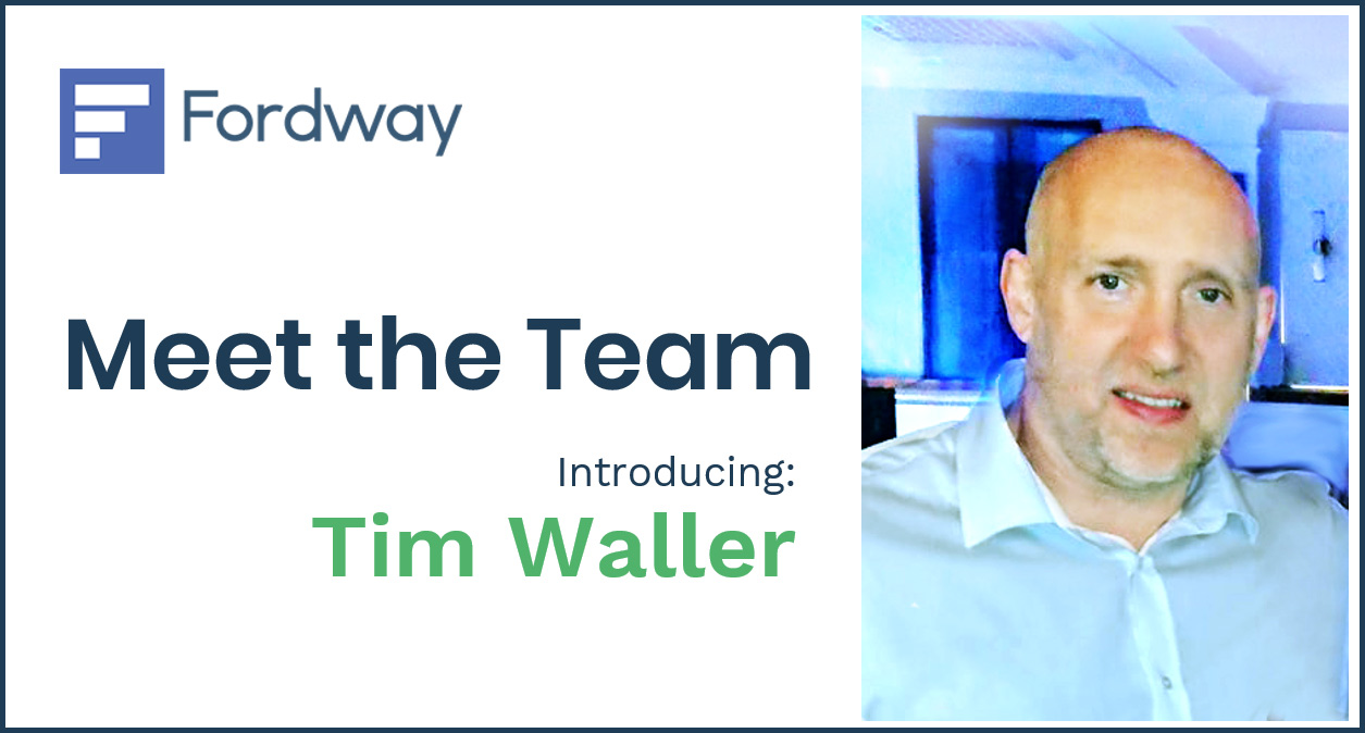 """If we're doing a good job, we go unnoticed"" - Introducing Tim Waller"